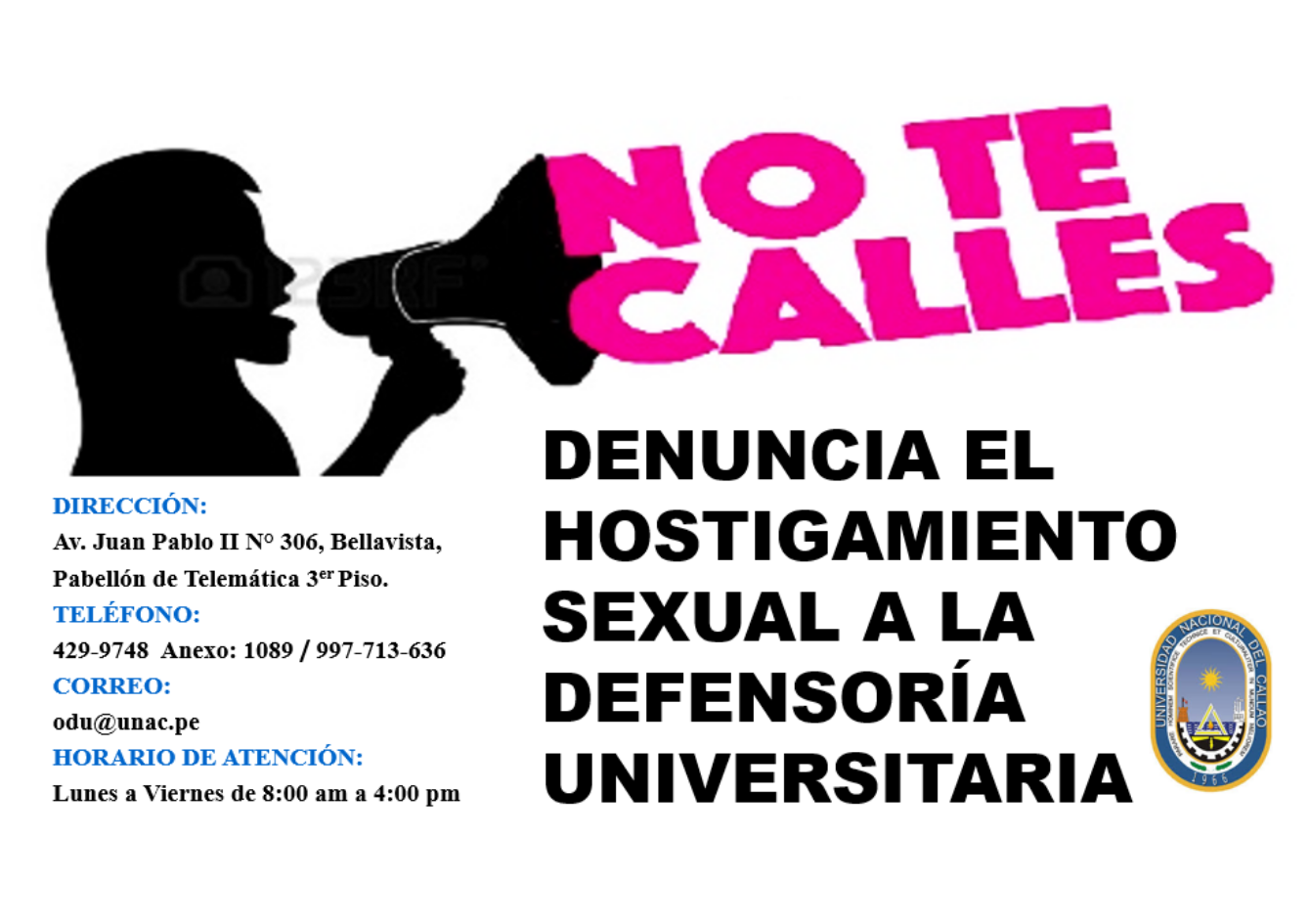 Denuncia Hostigamiento Sexual